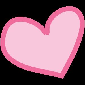 Herz-pink