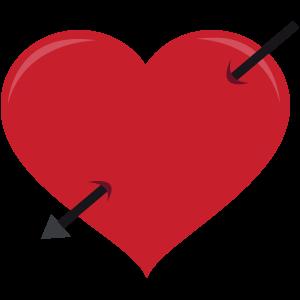Herz-Pfeil
