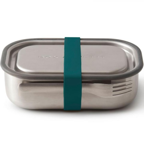 black blum edelstahl lunchbox multi funktion 1 l eat drink. Black Bedroom Furniture Sets. Home Design Ideas