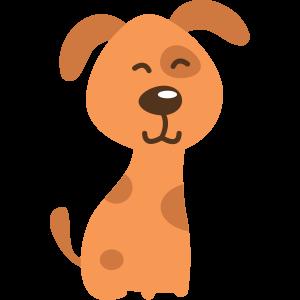 Hund-braun