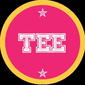 Tee-pink-rund