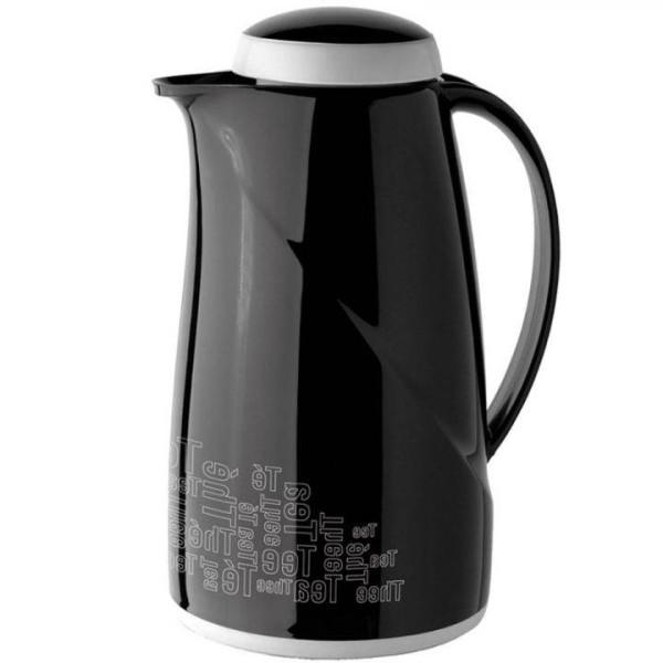 Helios Isolierkanne Wave Tee 1,0 L schwarz