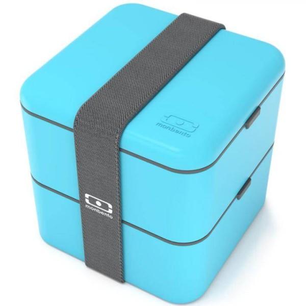Monbento Lunchbox Bento Box Square - blau
