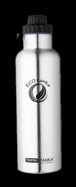 ECOTanka 0,8 Liter Thermotanka in Edelstahl mit Reduzier Verschluss
