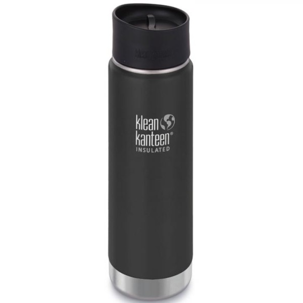 Klean Kanteen Thermobecher Wide Cafe 0,6 L schwarz