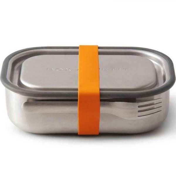 Black + Blum Edelstahl Lunchbox Multi Funktion 1 L Orange