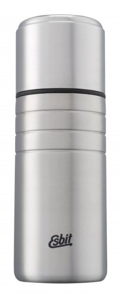 MAJORIS Edelstahl Isolierflasche mit doppelwandigen Edelstahlbecher 0,75l 2
