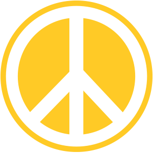 peace-gelb