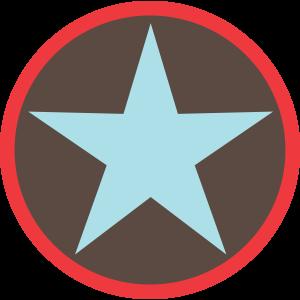 Stern-anthrazit