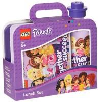 Lego Friends Lunchbox Trinkflasche Set