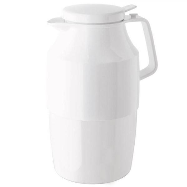 Helios Tee Isolierkanne 2,0 Liter Push Weiss