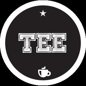 Tee-schwarz-rund