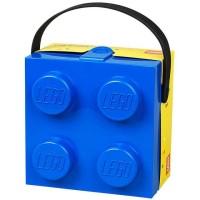 Lego Lunchbox mit Henkel 2,2 L