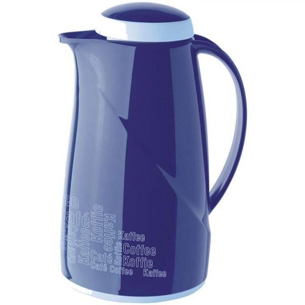Helios Thermoskanne Wave Kaffee 1,0 L Blau