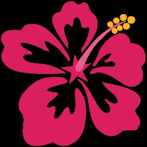 Hawaiiblume-pink