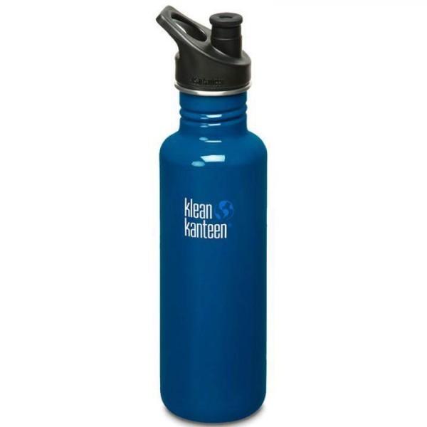 Klean Kanteen Trinkflasche Classic 0,8 L Blau