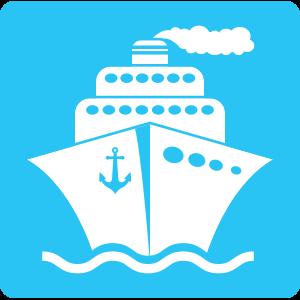 Schiff-hellblau