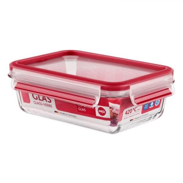 Emsa Lunchbox Clip & Close - auslaufsicher - 700 ml rot