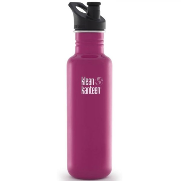 Klean Kanteen Trinkflasche Classic 0,8 L Himbeere