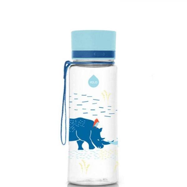 equa Trinkflasche für Kinder BPA-frei 0,4 L Rhino