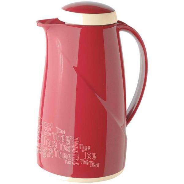 Helios Isolierkanne Wave Tee 1,0 L Rot