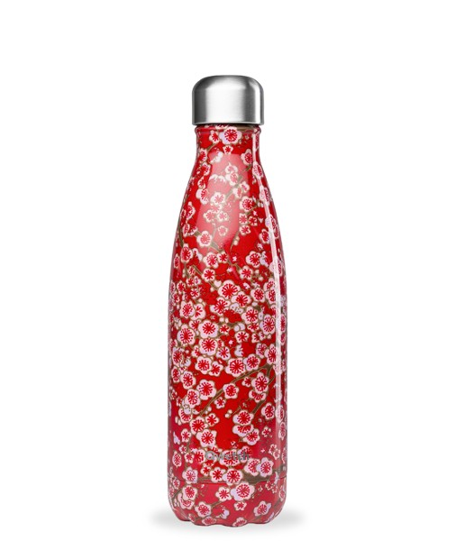 Thermoflasche Flowers 500 ml Rot