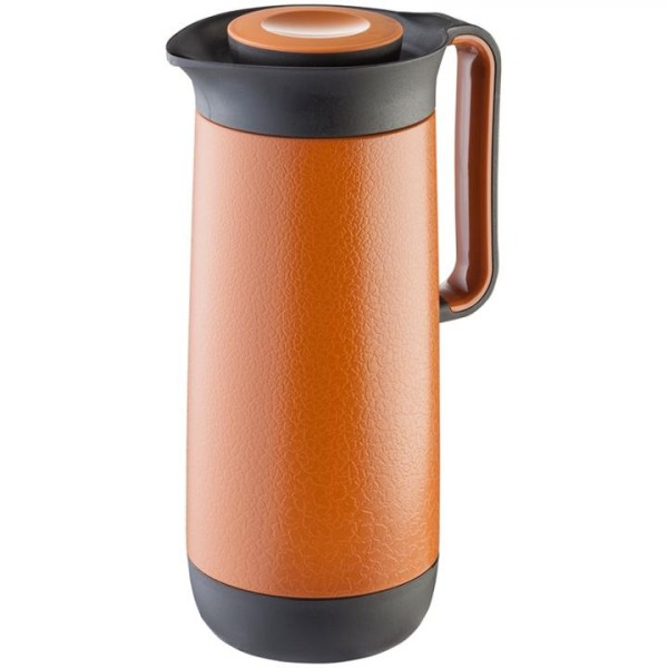 Helios Isolierkanne Design Line 1,0 L Orange