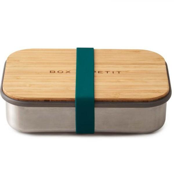 Black + Blum Brotdose Holz Edelstahl Bento Box