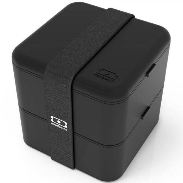 Monbento Lunchbox Bento Box Square - schwarz