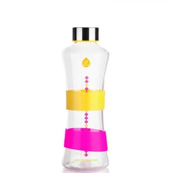 Glastrinkflasche von Equa - Gelb