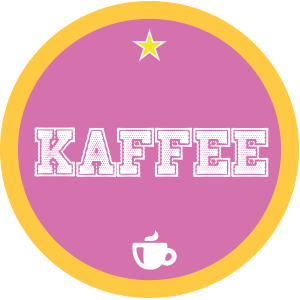 Kaffee-pink-rund